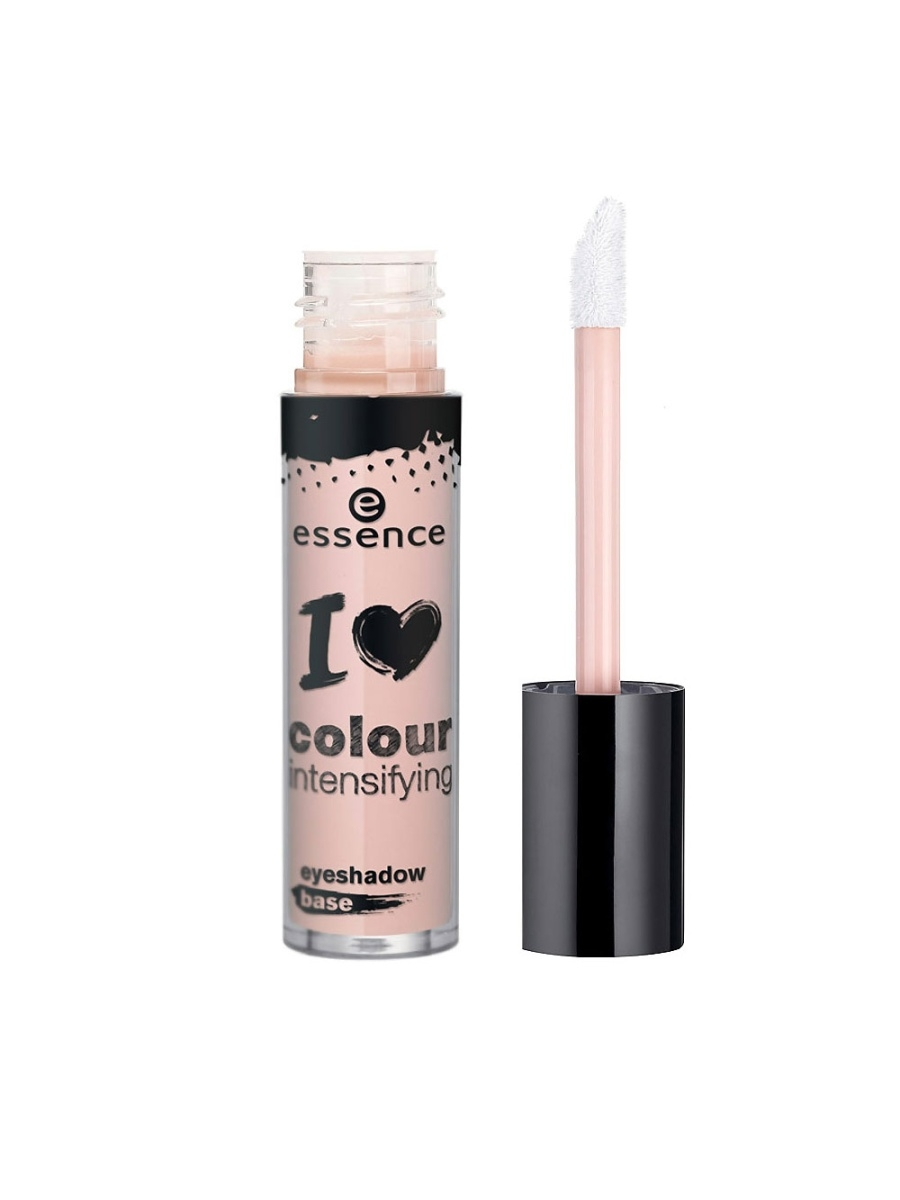 Основы под макияж essence. База под тени для век I love colour intensifying eyeshadow base essence of json