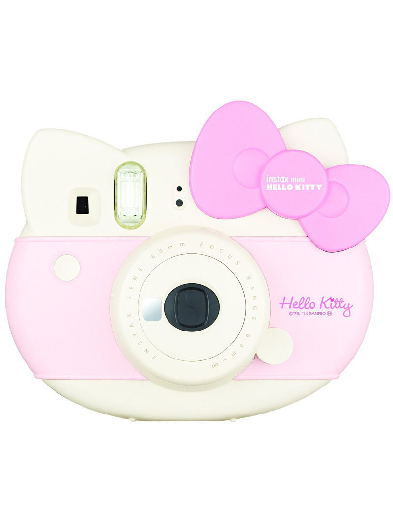Фотоаппараты Fujifilm Instax Фотоаппарат FUJIFILM Instax MINI HELLO KITTY PINK набор + кассета 10л. фотоаппарат fujifilm finepix xp120 sky yellow