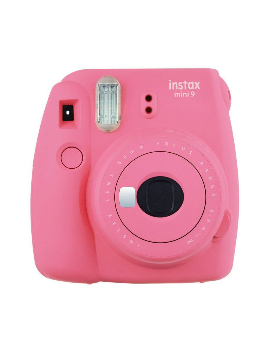 Фотоаппараты Fujifilm Instax Фотоаппарат FUJIFILM Instax MINI 9 Flamingo Pink фотоаппарат fujifilm finepix xp120 sky yellow