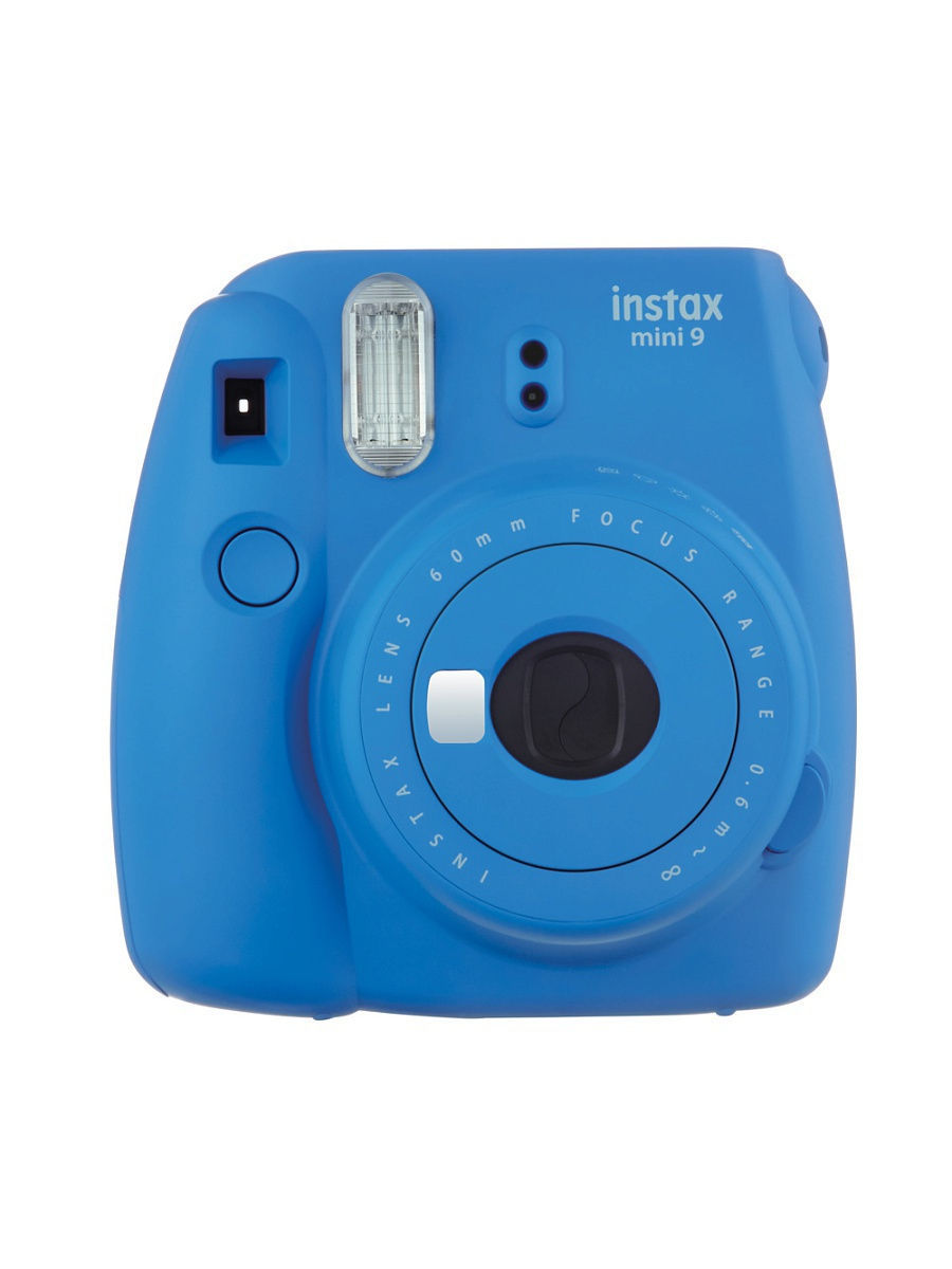 Фотоаппараты Fujifilm Instax Фотоаппарат FUJIFILM Instax MINI 9 Cobalt Blue фотоаппарат fujifilm finepix xp120 sky yellow
