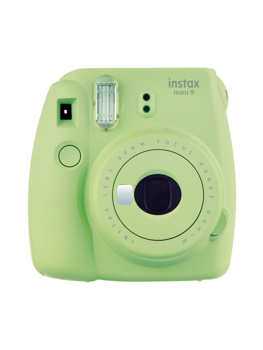 Фотоаппараты Fujifilm Instax Фотоаппарат FUJIFILM Instax MINI 9 Lime Green фотоаппарат fujifilm finepix xp120 sky yellow