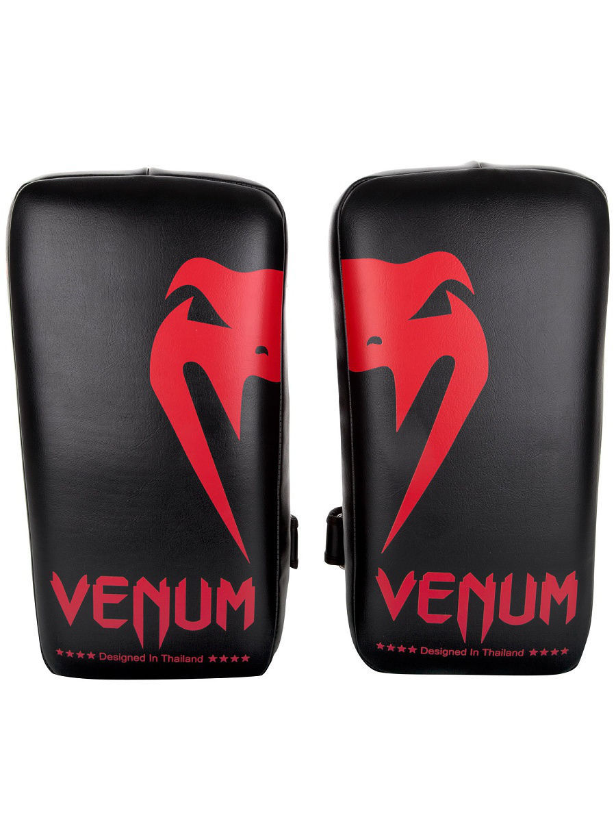 Лапы Venum Пэды Venum Giant Kick Pads Black/Red (пара) пэды venum giant kick pads пара venum