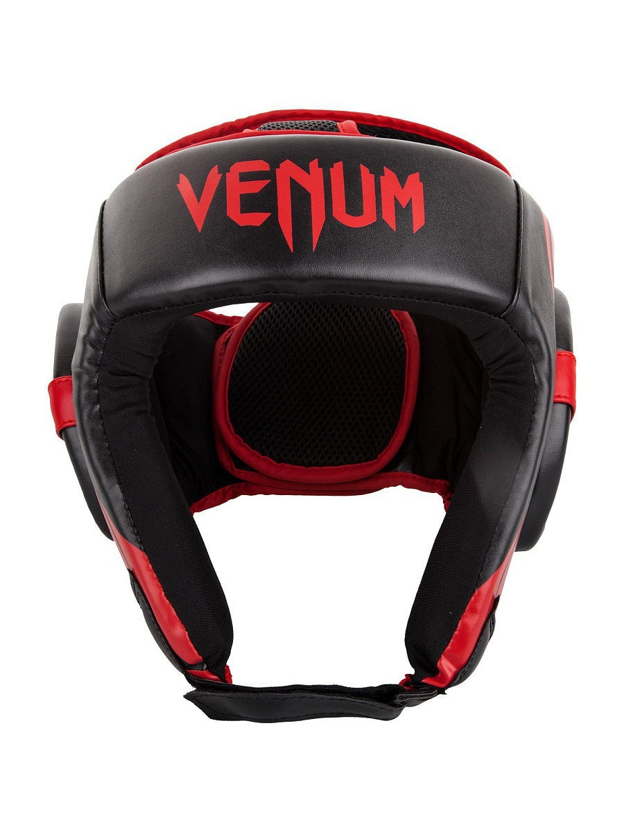 Шлемы Venum Шлем боксерский Venum Challenger 2.0 Open Face Neo Black/Red шлем боксерский venum elite headgear 100% premium leather