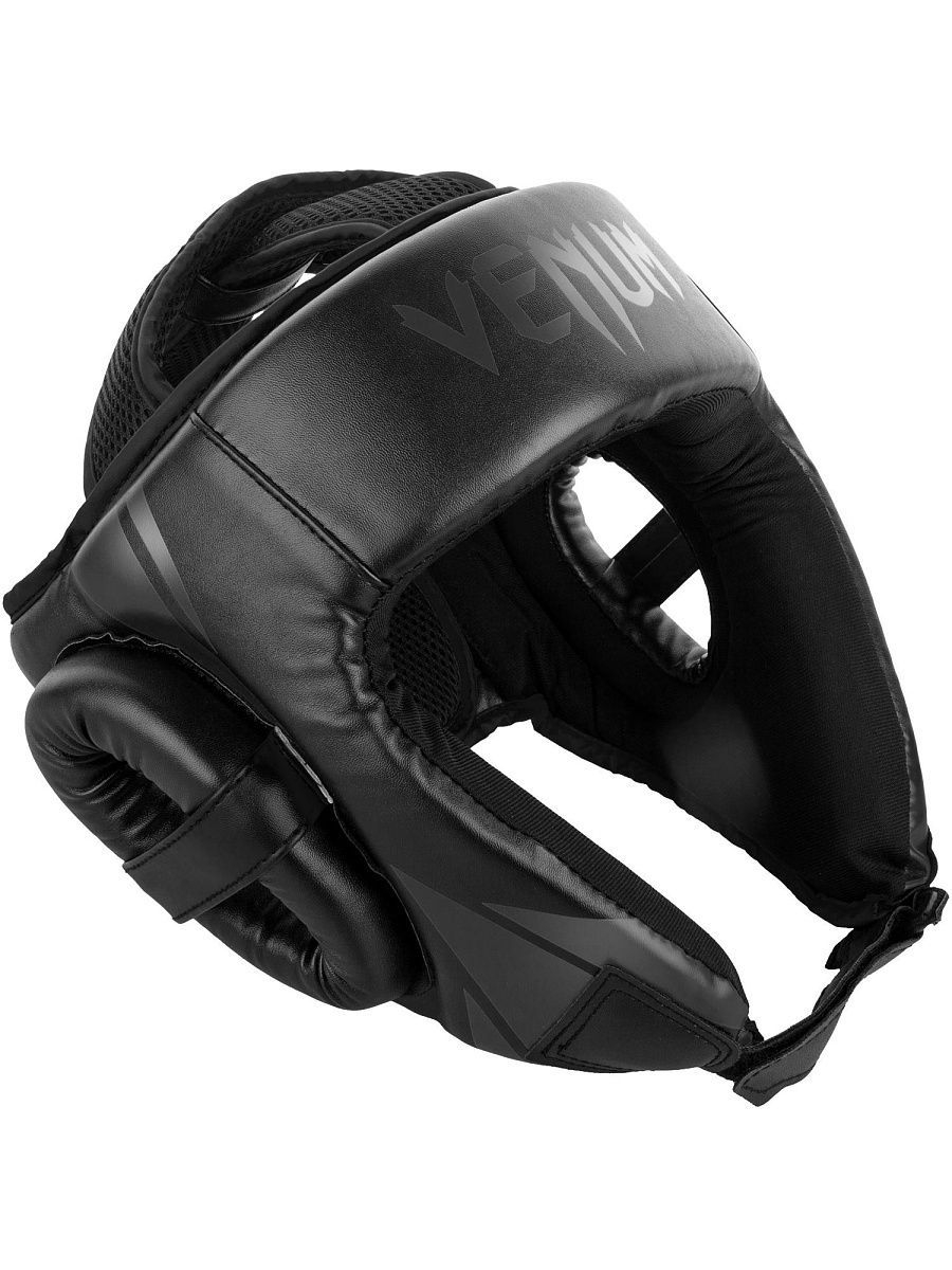 Шлемы Venum Шлем боксерский Venum Challenger 2.0 Open Face Neo Black шлем боксерский venum elite headgear 100% premium leather