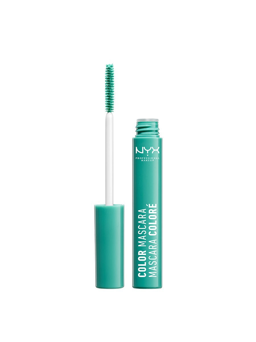 Туши NYX PROFESSIONAL MAKEUP Цветная тушь для ресниц. COLOR MASCARA- MINT JULEP 06 тушь для ресниц chado mascara divin 230 цвет 230 brun variant hex name 635352