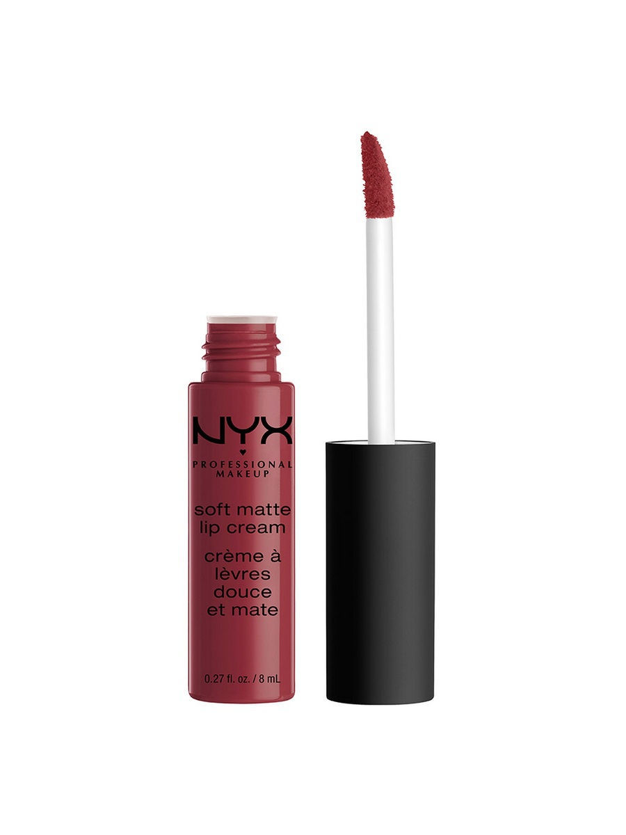 Помады NYX PROFESSIONAL MAKEUP Матовая жидкая губная помада-крем. SOFT MATTE LIP CREAM - BUDAPEST 25 nyx professional makeup жидкая губная помада lip lingerie cashmere silk
