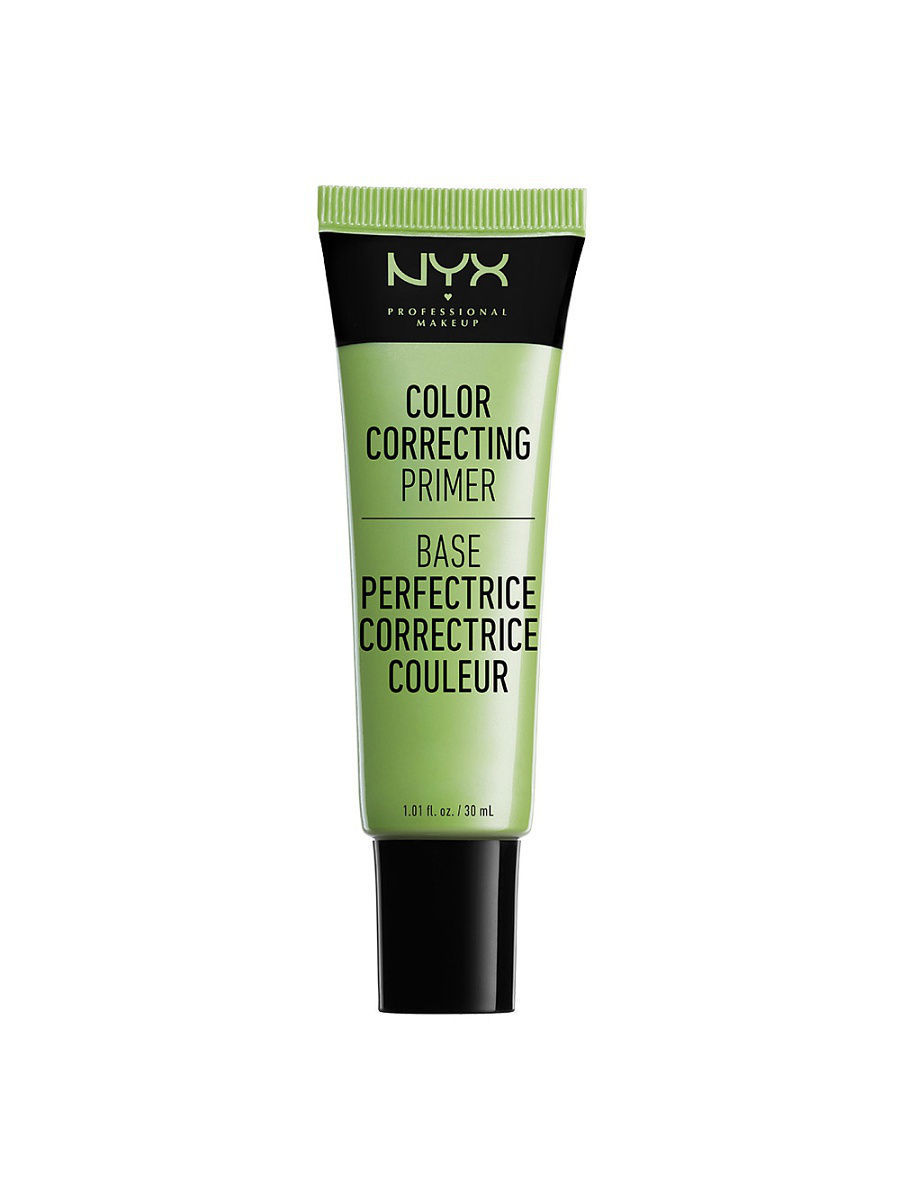 Основы под макияж NYX PROFESSIONAL MAKEUP Сc праймер для лица. COLOR CORRECTING LIQUID PRIMERS- GREEN 02 праймер nyx professional makeup big