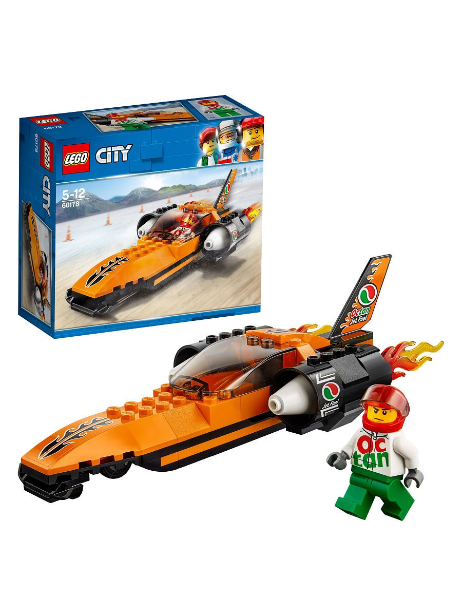 Конструкторы Lego LEGO Гоночный автомобиль City Great Vehicles 60178