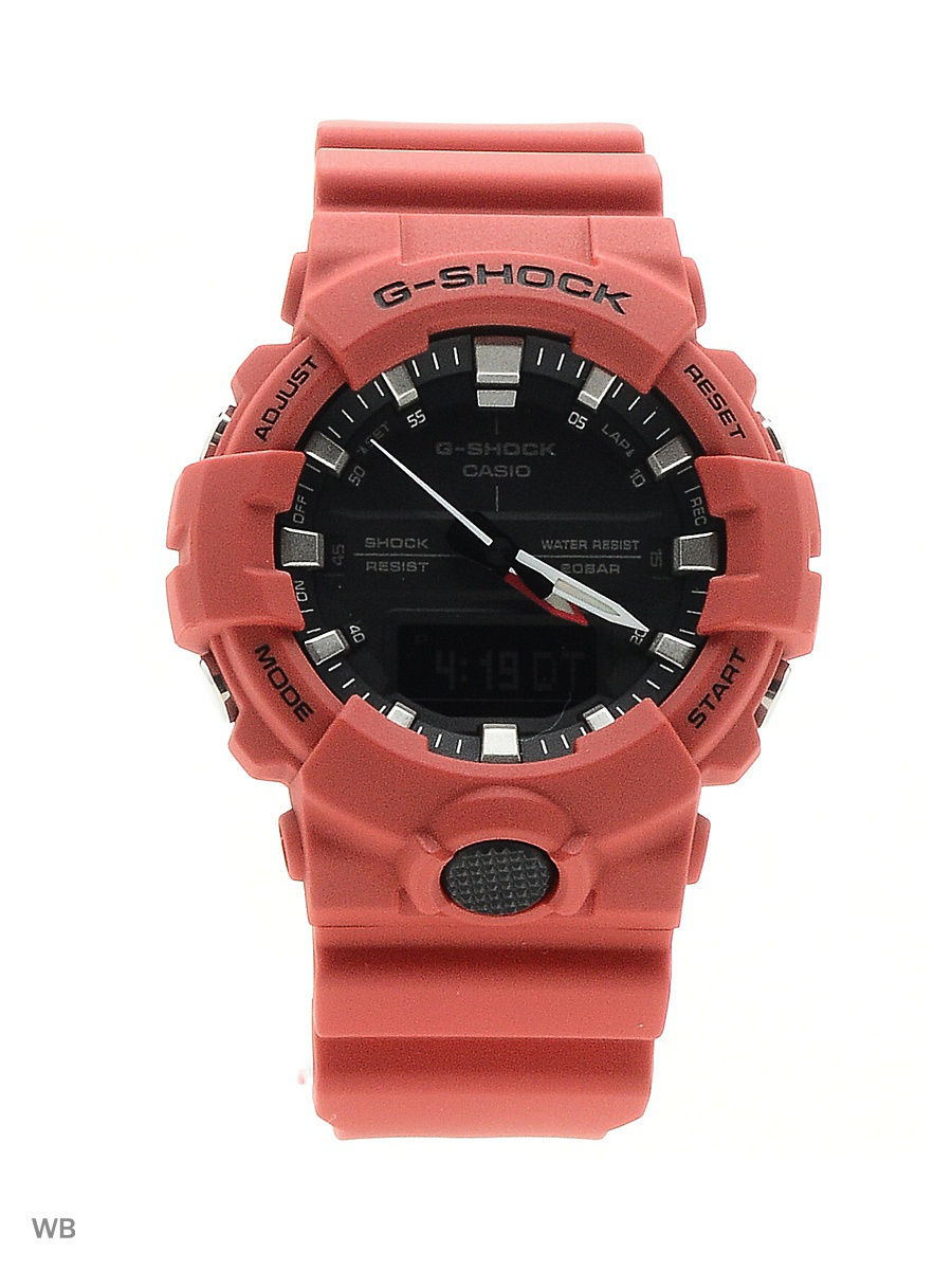 Часы наручные CASIO Часы G-Shock GA-800-4A casio g shock ga 800 1a