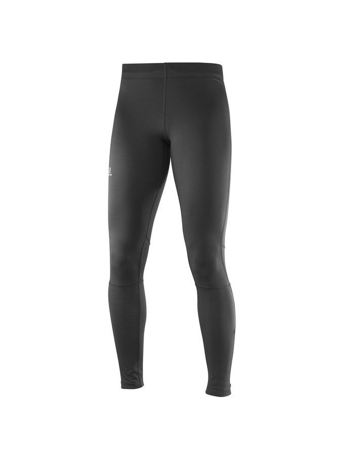Тайтсы SALOMON Тайтсы AGILE LONG TIGHT W BLACK