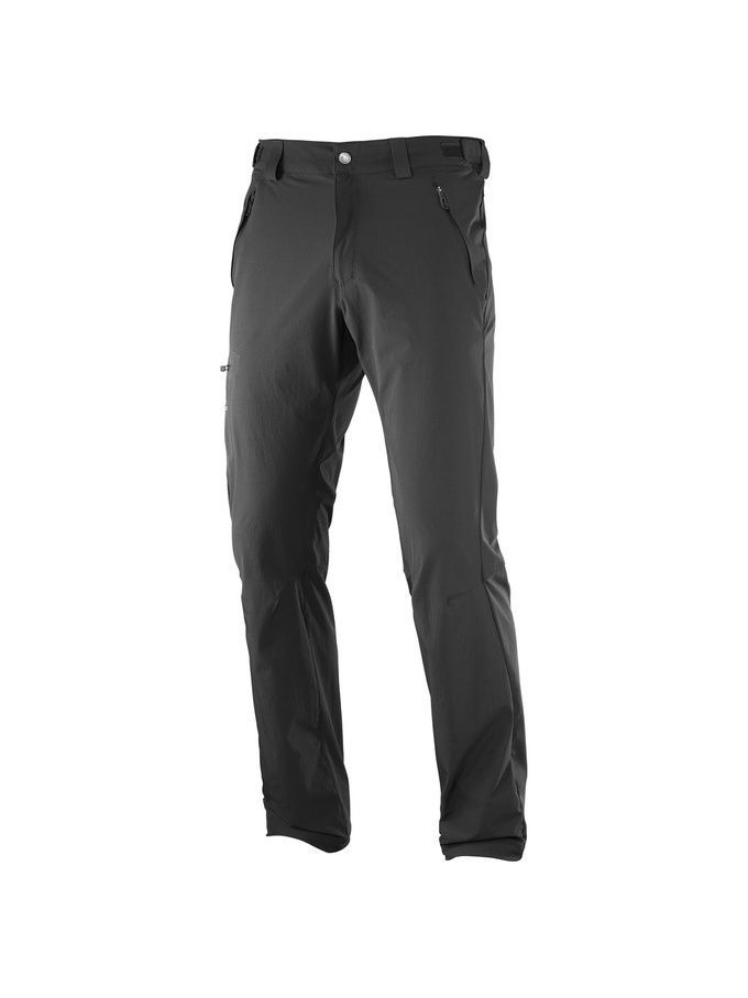 Брюки SALOMON Брюки WAYFARER PANT M Black salomon брюки