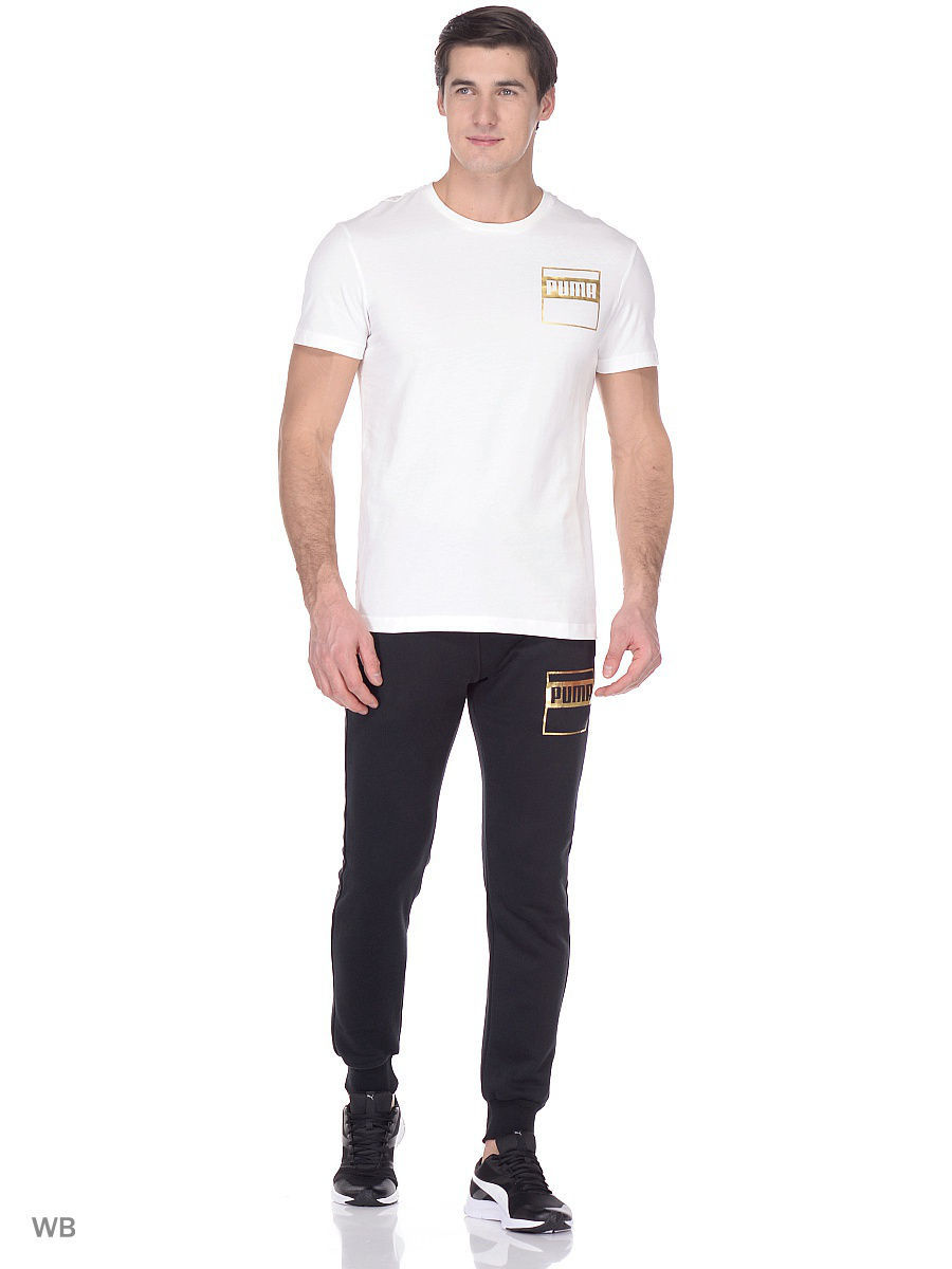 Брюки PUMA Брюки PUMA Rebel Gold Pants FL. брюки puma брюки winter padded pants mens