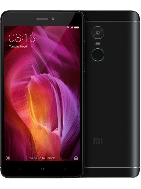 Смартфон Redmi Note 4 64Gb чёрный