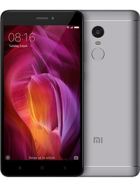 Смартфон Redmi Note 4 64Gb серый