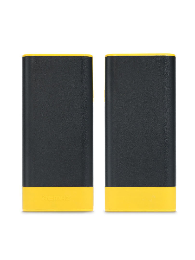 Внешние аккумуляторы REMAX Power Bank 10000 mAh Remax Youth Black/Yellow remax coozy powerbox 10000 mah