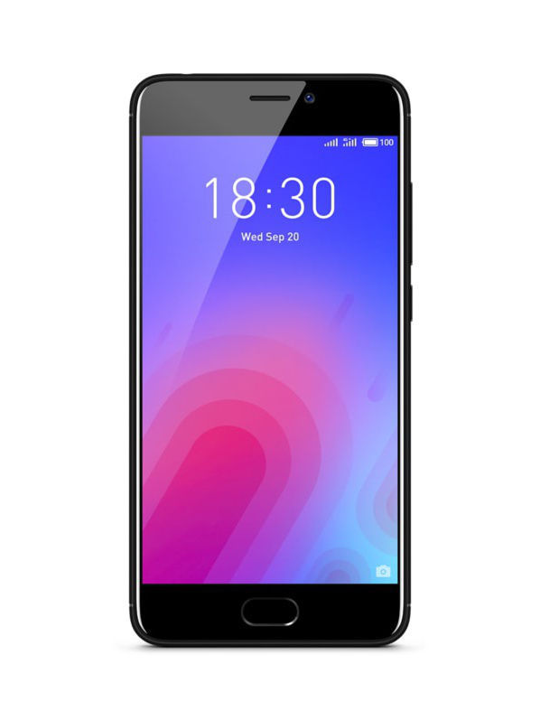 Смартфоны Meizu Смартфон M6 Black 16Gb смартфон meizu m5 note m621h 16gb серый