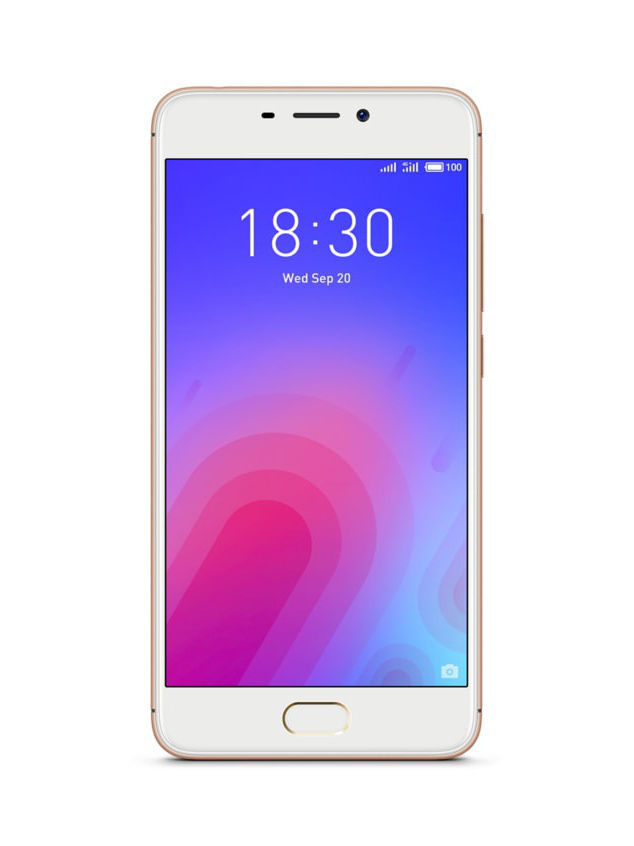 Смартфоны Meizu Смартфон M6 Gold 16Gb смартфон meizu m5 note m621h 16gb серый