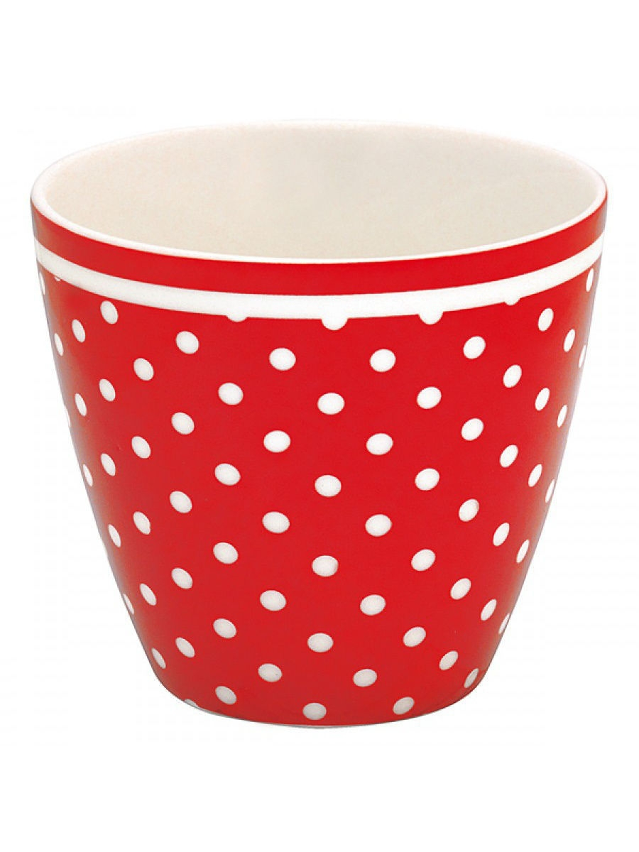 Стаканы Greengate Стакан Spot red 9 cm spot on sp023awilc28