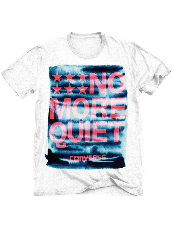Футболка Converse Футболка NO MORE QUIET TEE футболка no have rice about you tee