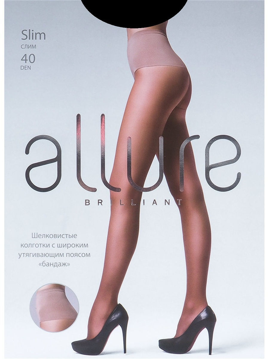 Колготки Allure SLIM_40/nero