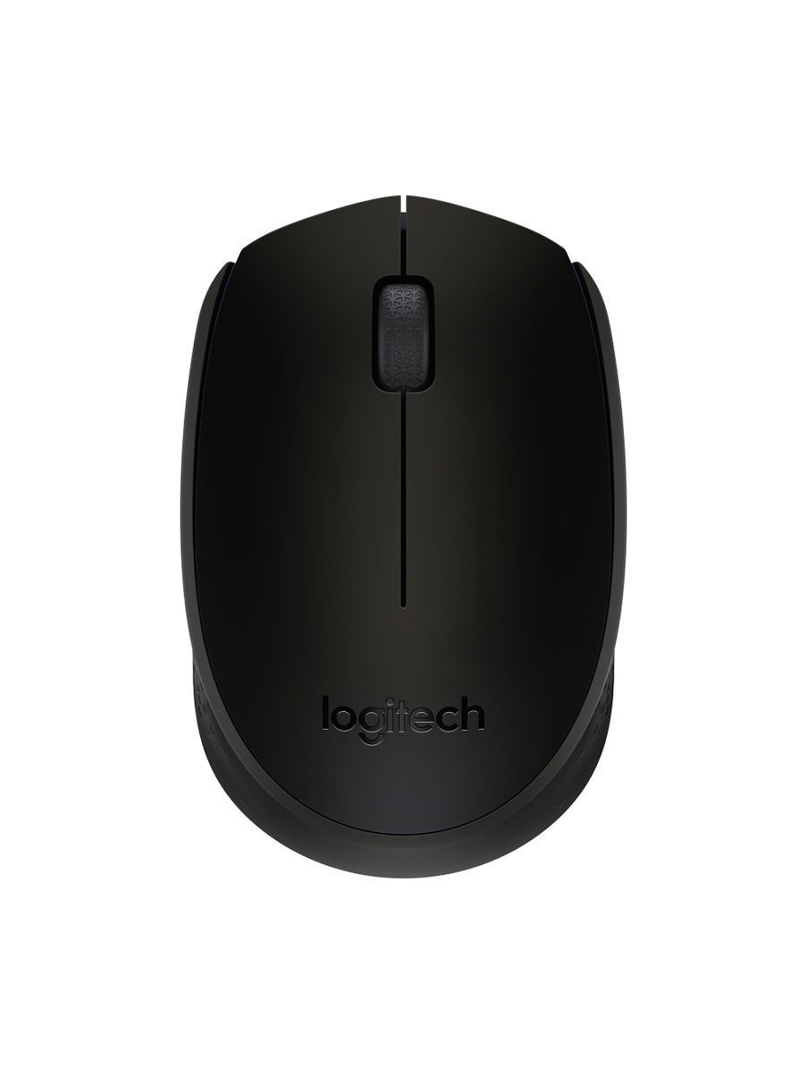 Мыши Logitech Мышь Wireless Mouse B170 for Business Black logitech wireless mouse m560