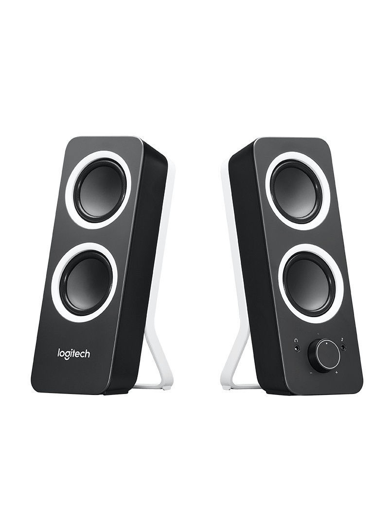 Колонки Logitech Колонка Z200 Speaker System 2.0 Midnight Black samsung gt c3011 midnight black