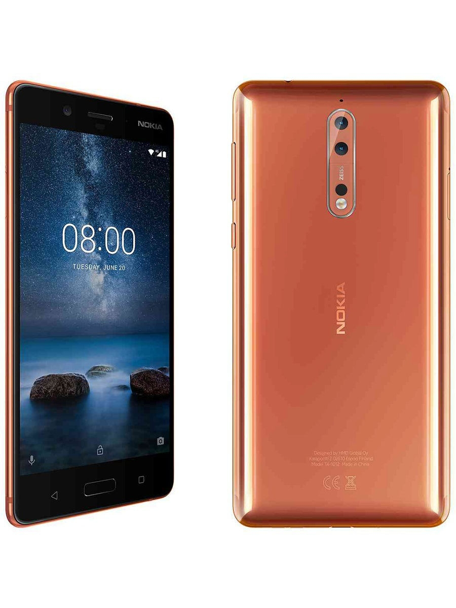 Смартфоны Nokia Смартфон 8 DS Polished Copper смартфоны nokia смартфон 8 ds tempered blue