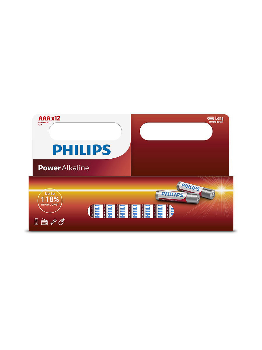 Элементы питания Philips Батарея Power Alkaline LR03P12W ААА samsung mojet spriatat dinamik za perom s pen