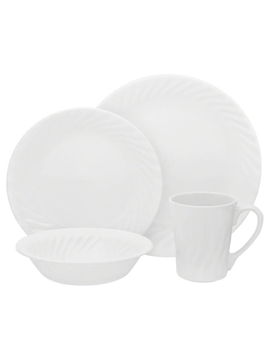 Сервизы столовые Corelle Набор посуды Enhancements 16 предметов corelle набор посуды shadow iris 16 пр
