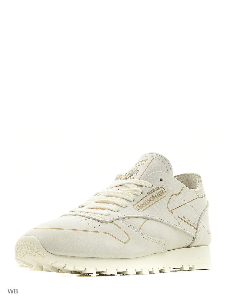 Кроссовки Reebok Кроссовки CL LEATHER HMG CLASSIC WHITE кроссовки classic leather lux premium wearability