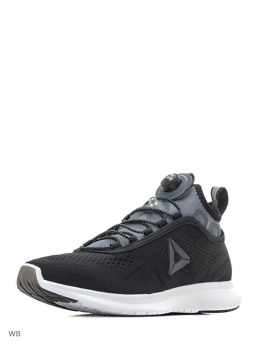 Кроссовки Reebok Кроссовки PUMP PLUS TE BLACK/ALLOY/WHT/SLVR emote alloy