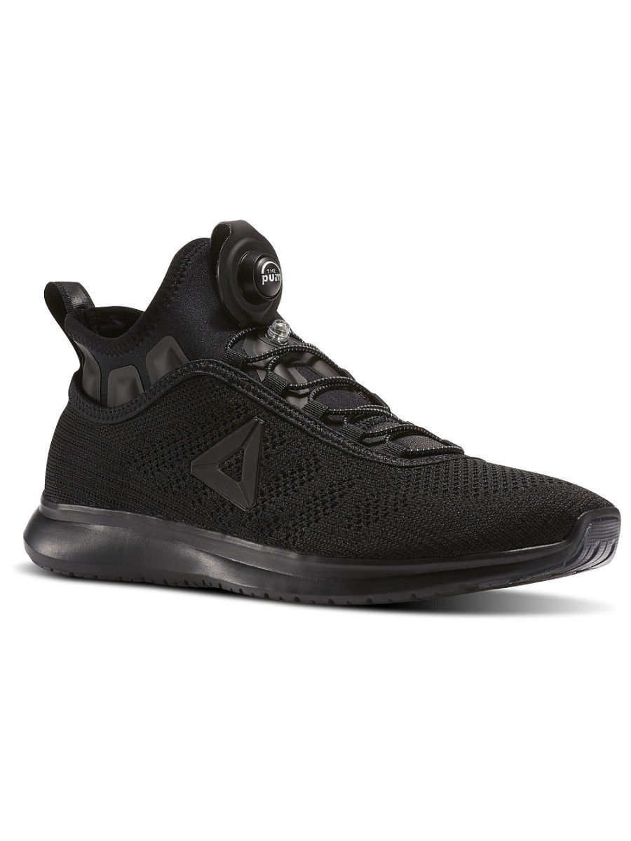 Кроссовки Reebok Кроссовки REEBOK PUMP PLUS UL BLACK/COAL reebok кроссовки жен reebok runner coal blk poison pink