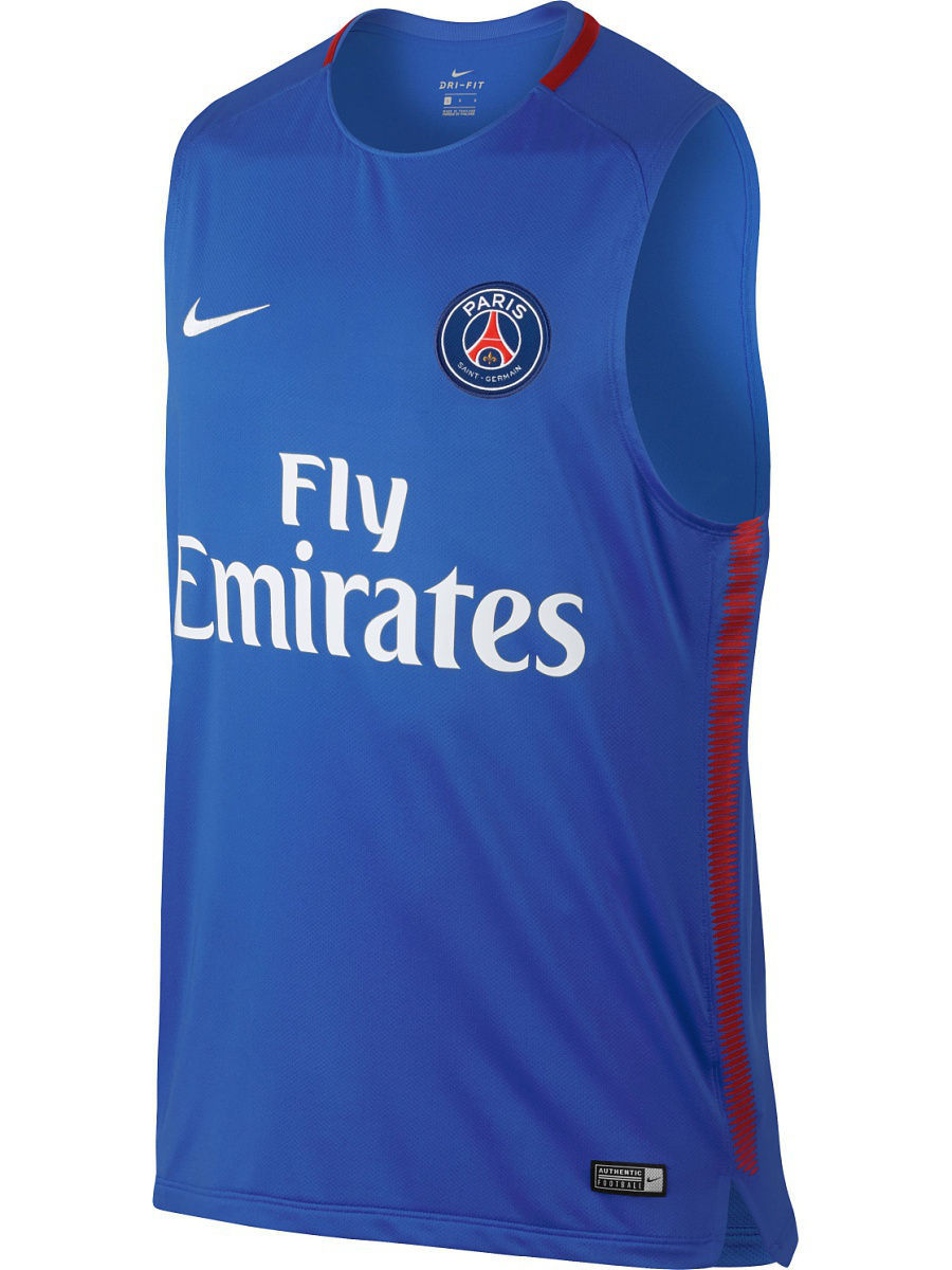Футболка Nike Футболка PSG M NK BRT SQD TOP SL psg paris saint germain bordeaux