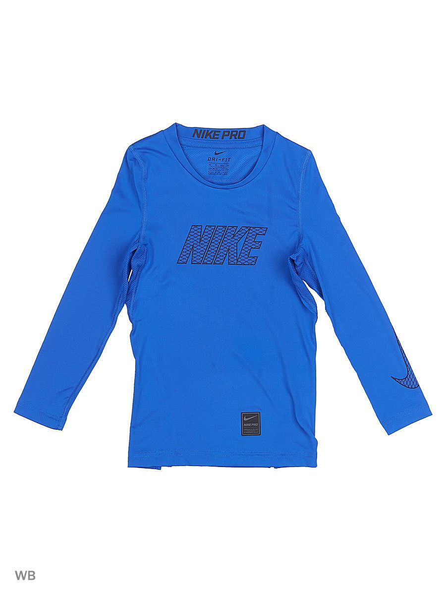 Лонгслив Nike Лонгслив B NP TOP LS COMP omron comp air pro