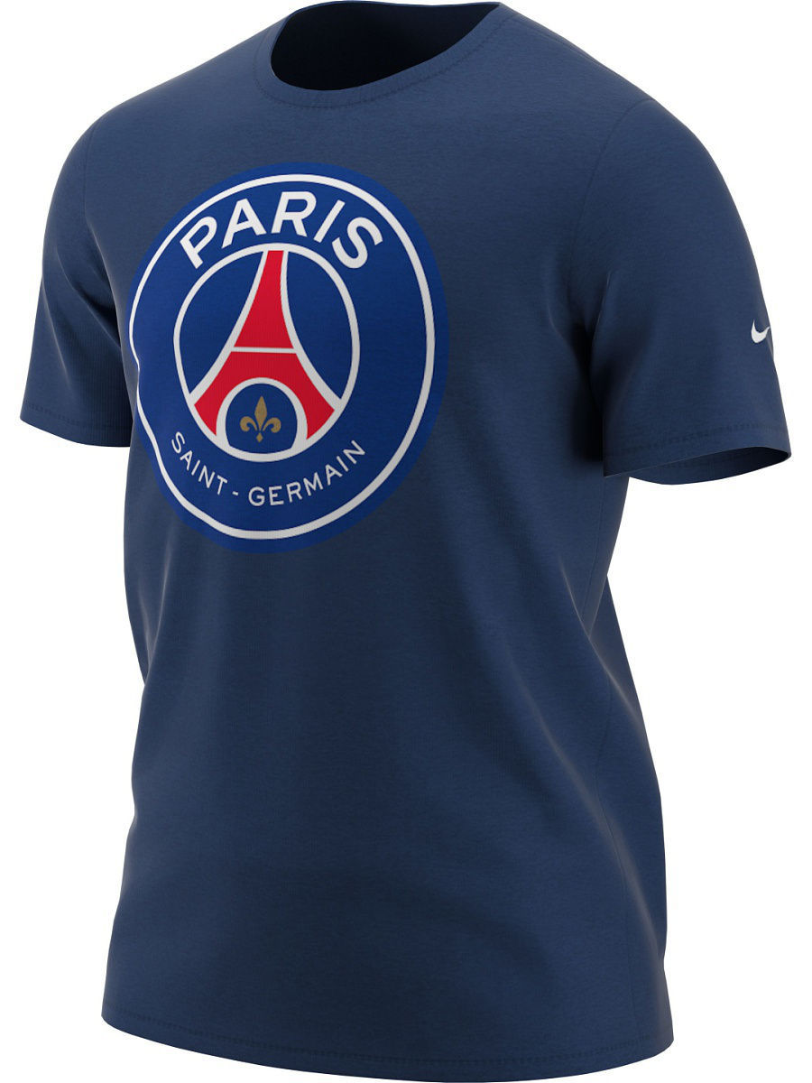 Футболка Nike Футболка PSG B NK TEE EVERGREEN CREST psg paris saint germain bordeaux