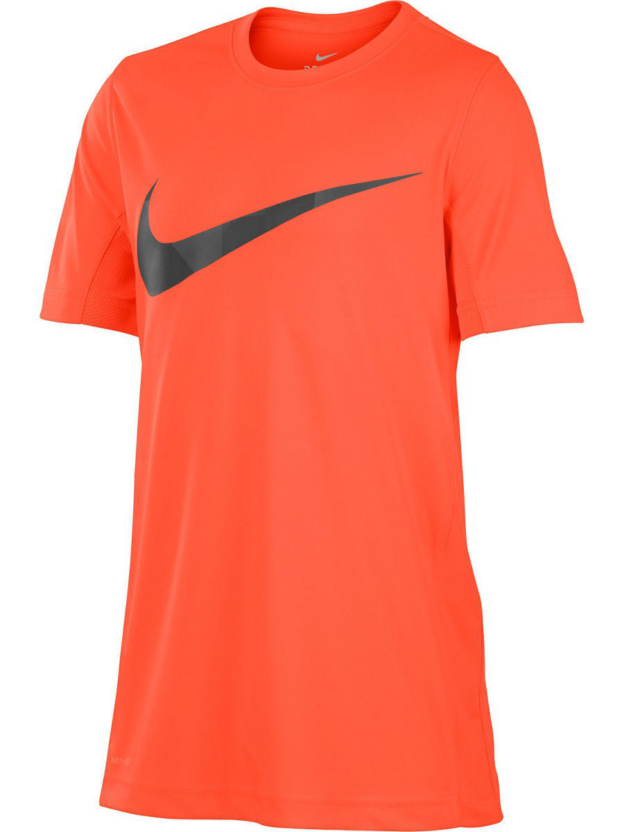 Футболка Nike Футболка B NK DRY TOP SS LEG GFX свитшоты nike свитшот dri fit training crew gfx