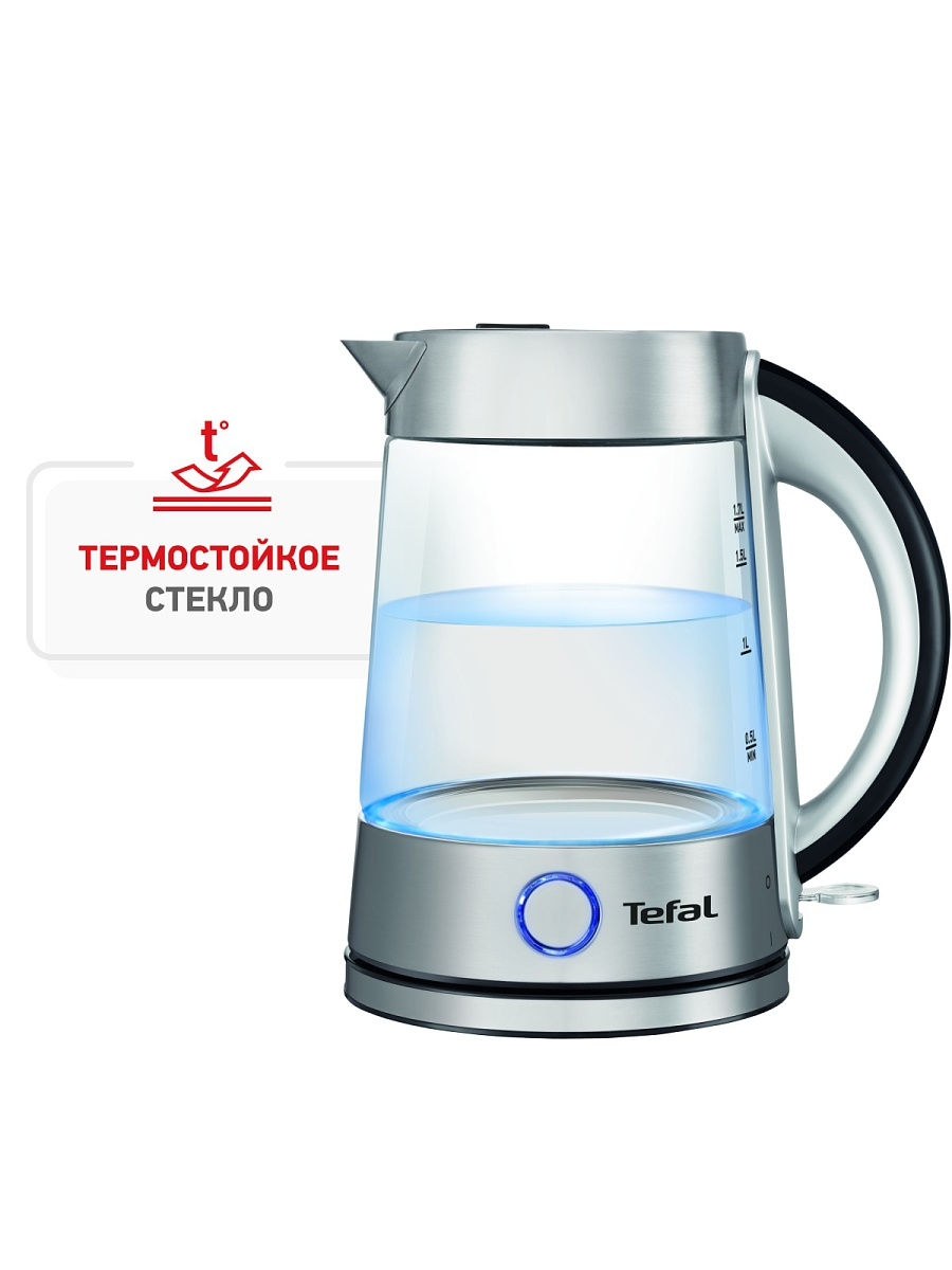 Чайник Glass Kettle KI760D Tefal KI760D30