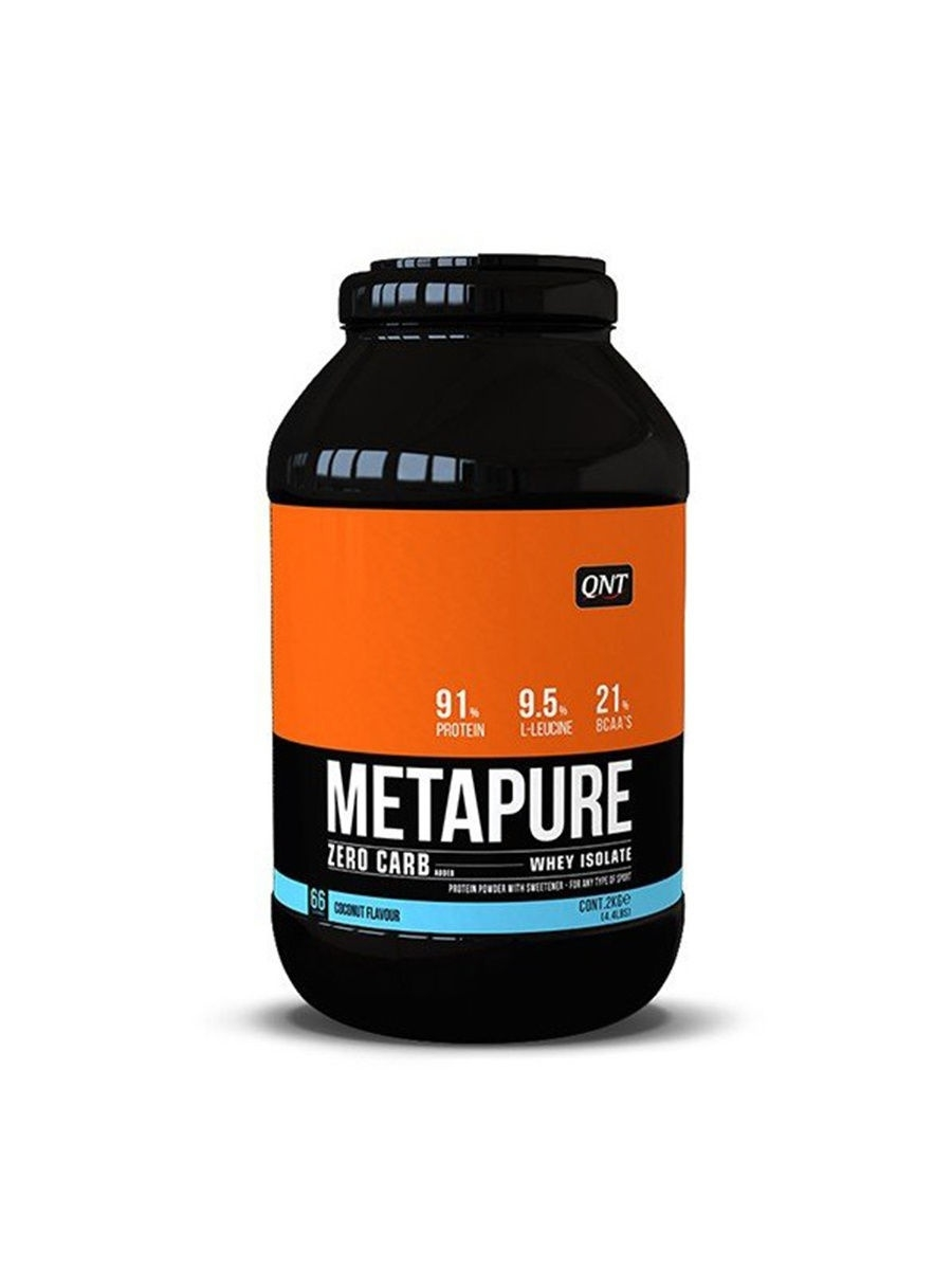 Протеин Metapure Zero Carb, вкус - кокос, 2 кг. QNT 5425002408152