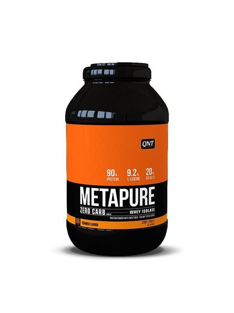 Протеин Metapure Zero Carb, вкус - тирамису, 2 кг. QNT 5425002408176