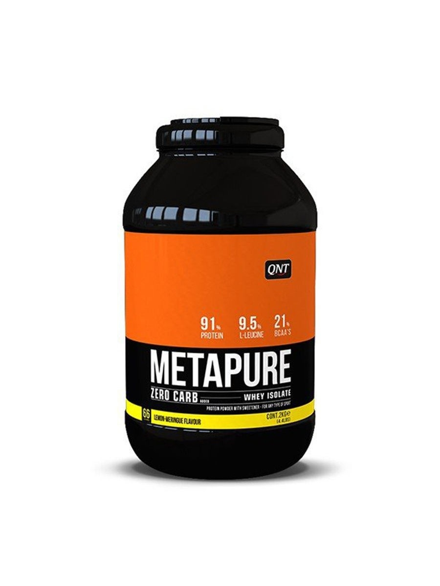 Протеин Metapure Zero Carb, вкус - лимон/меренга, 2 кг. QNT 5425002408220