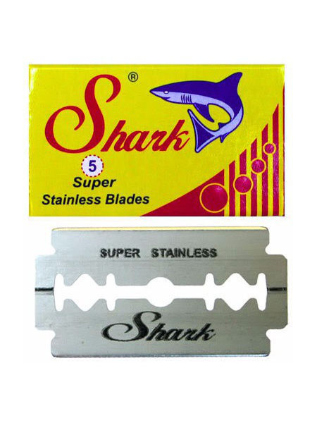 Лезвие SHARK SUPER STAINLESS блистер 20 пачек по 5 шт. лезвий
