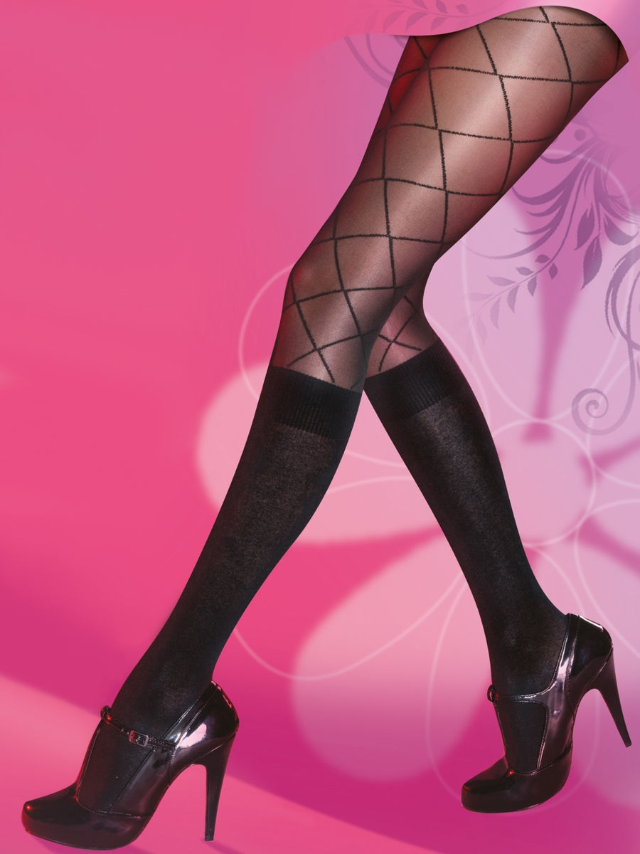 Колготки Pretty Polly AQS9/black