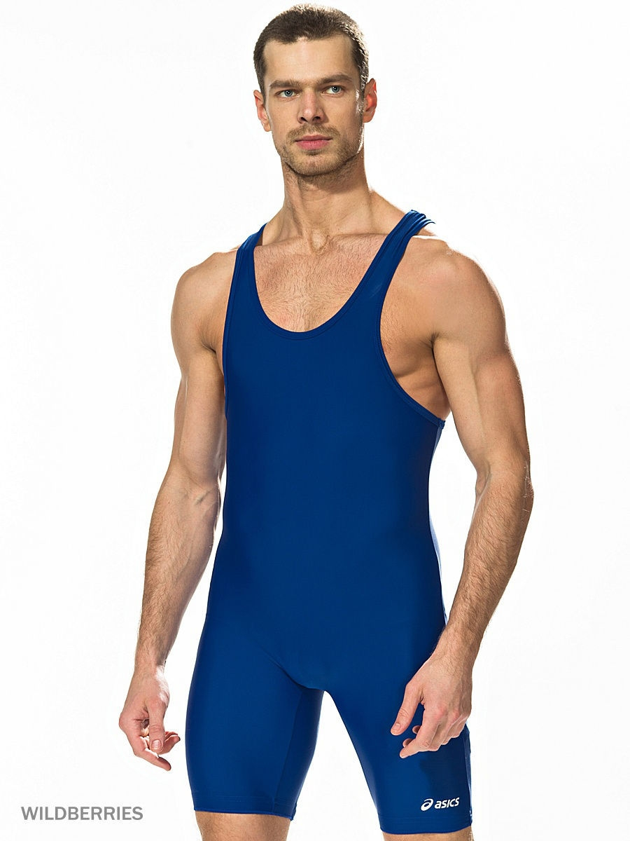 Трико борцовское ASICS Борцовское трико SOLID MODIFIED SINGLET трико для девочек