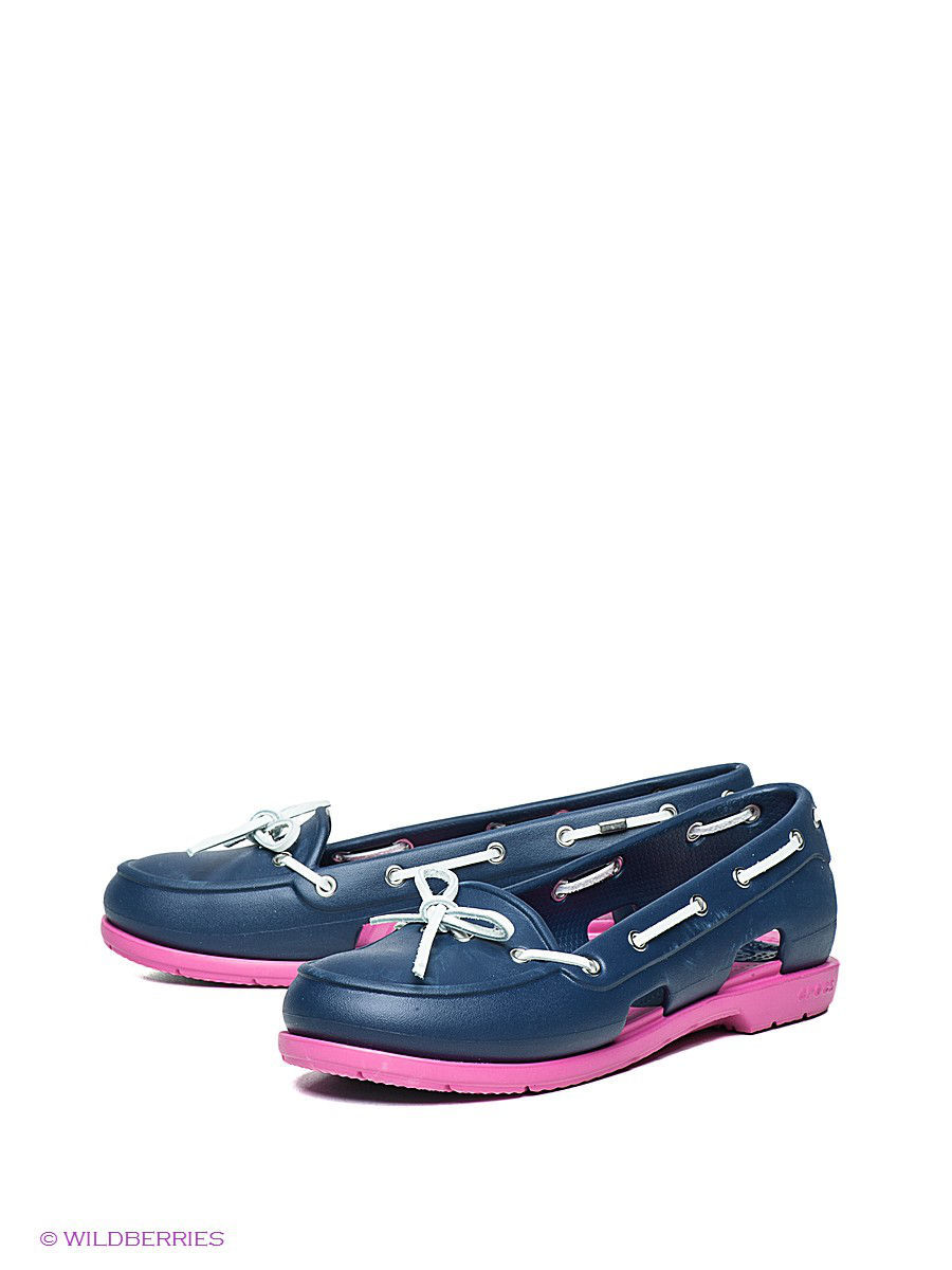 ������� Beach Line Boat Shoe W CROCS 14261-4D0