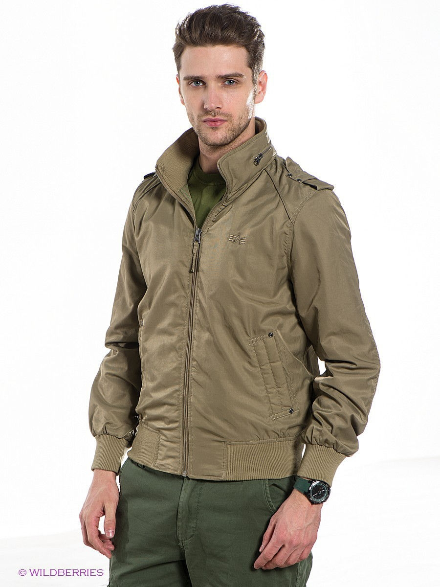 Куртка Alpha Industries MJS43300C1/Khaki: изображение 1