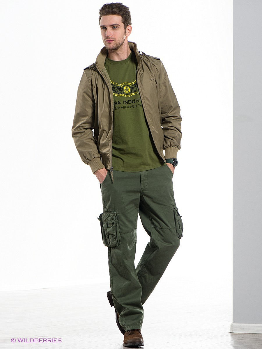 Куртка Alpha Industries MJS43300C1/Khaki: изображение 3