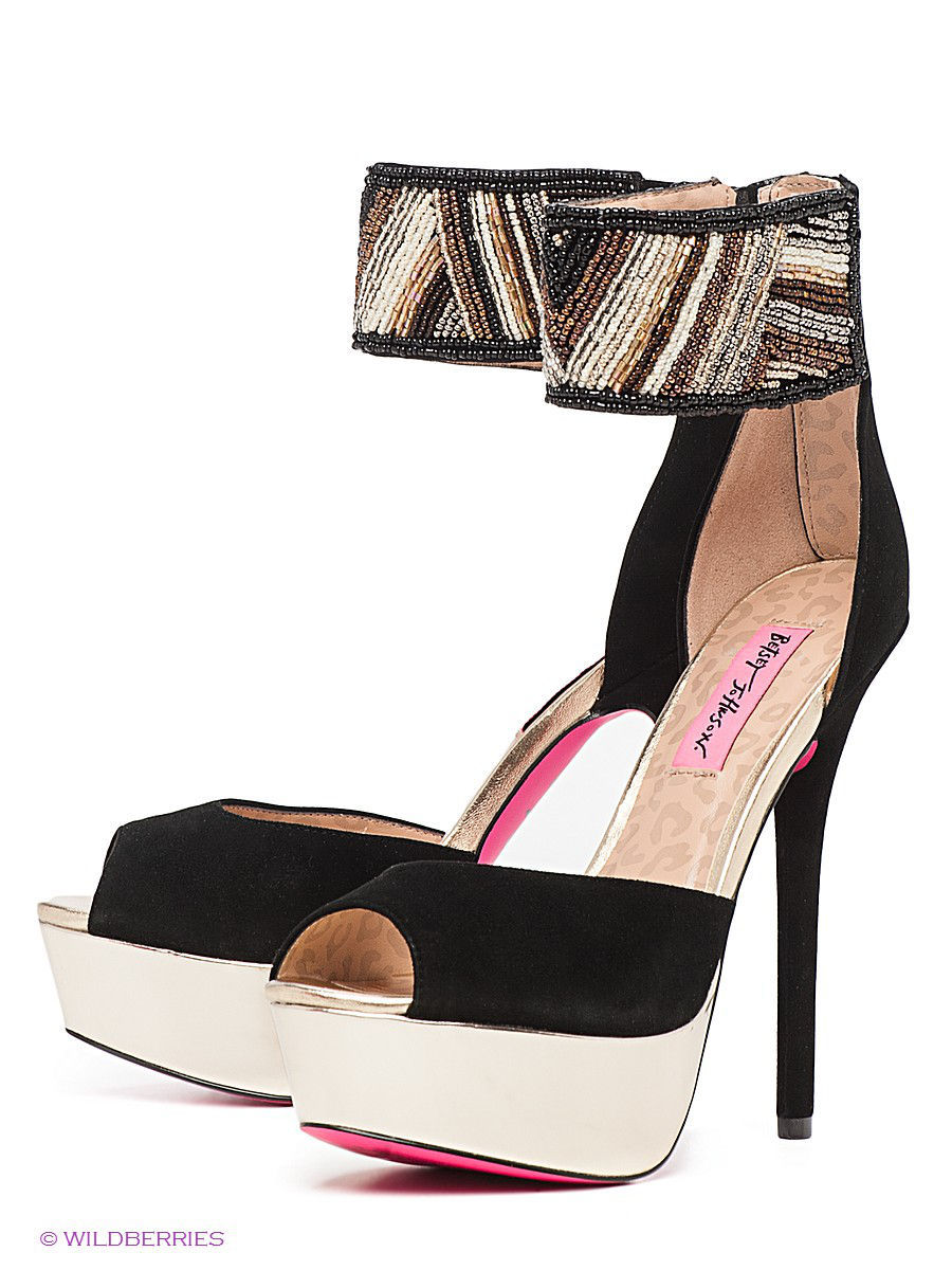Босоножки Betsey Johnson Босоножки blackman malorie magic betsey
