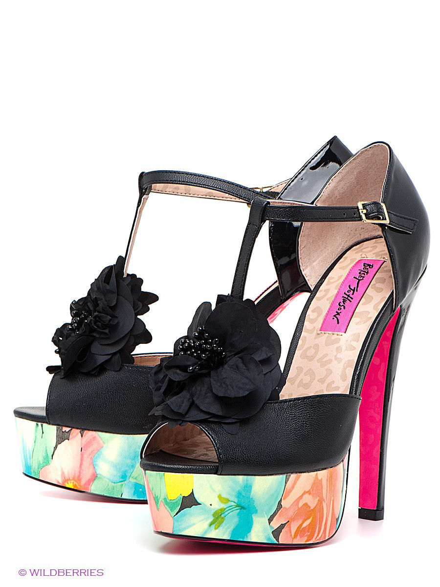 Босоножки Betsey Johnson 27,1,640-RUBYYY