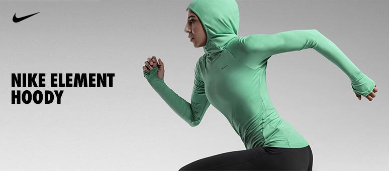 Лонгслив NIKE ELEMENT HOODY, Nike