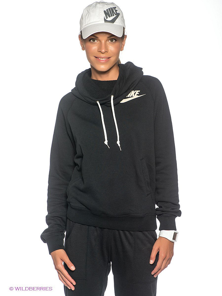 Свитшот NIKE RALLY FUNNEL NECK HOODY